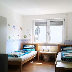 Monteurzimmer in Burgau Zweibettzimmer