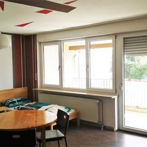 komfortable Monteurzimmer in Burgau