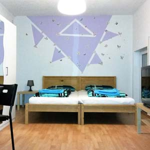 Doppelzimmer Pension für Monteure in Burgau
